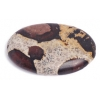 20x30mm New Leopardskin Oval Shape Semi-Precious